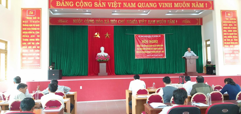 Hương An hội nghị tổng kết nông nghiệp năm 2019